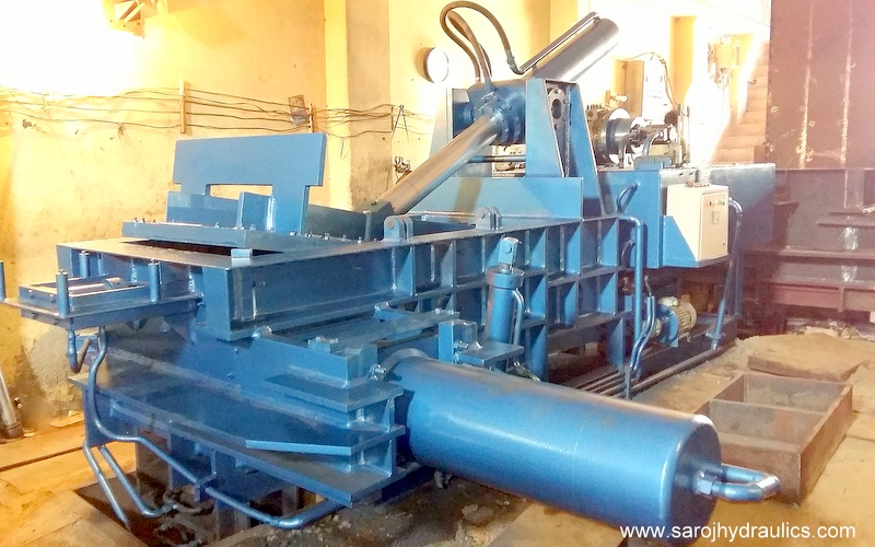 paper baler machine