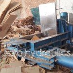 waste paper baling machine manufacturer of hydraulic waste baling/baler/bale press/pressing machine(manual/automatic baling machine)in (INDIA,new delhi) with competitive price.