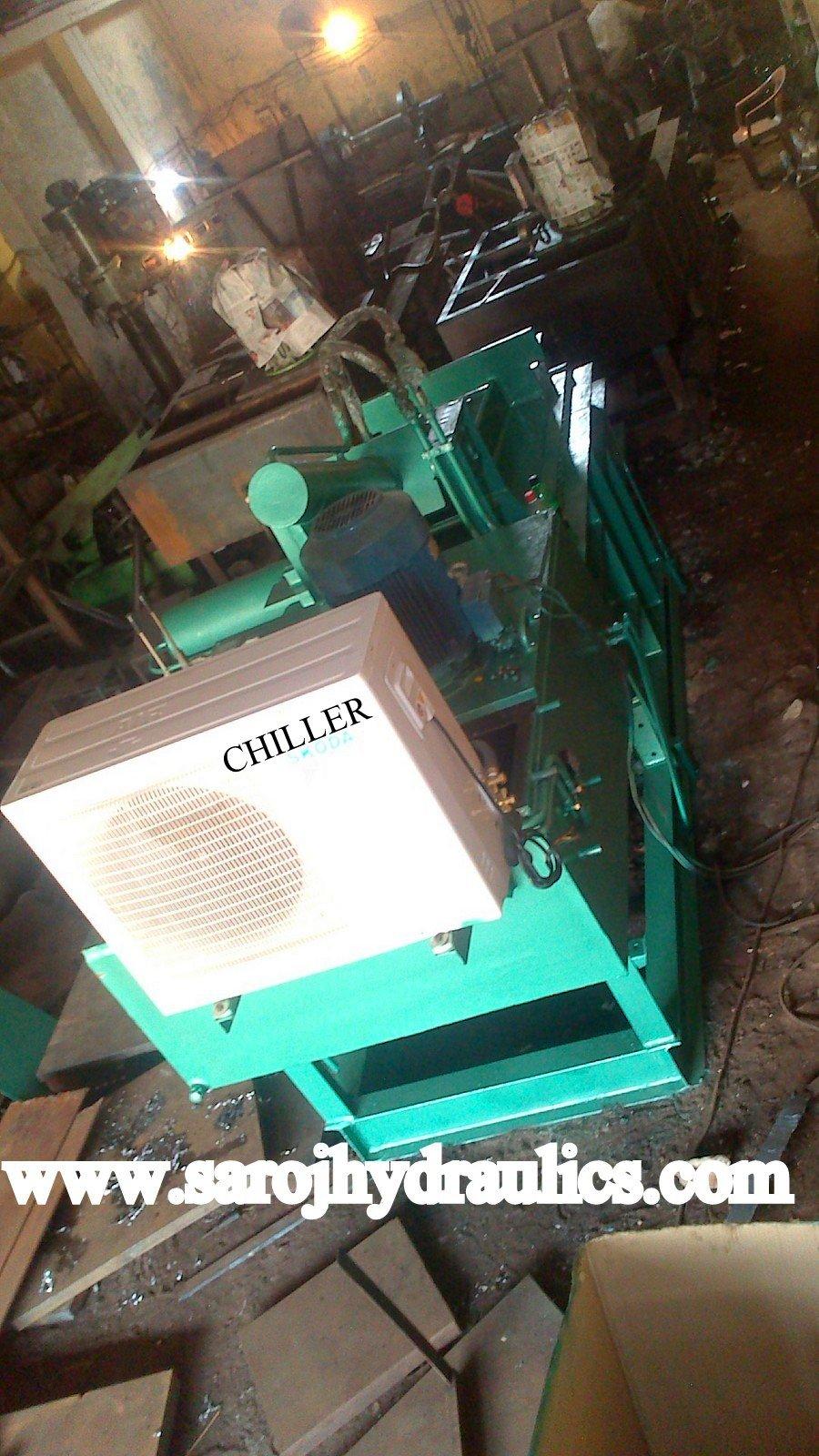 baler bale press