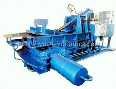 corrugated bundle press machine