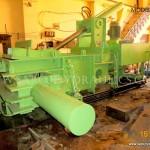 corrugate box baling machine