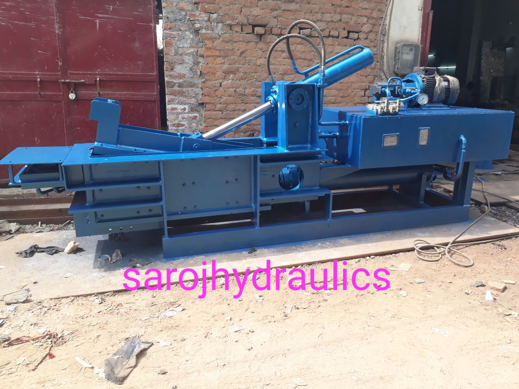 hydraulic double action compression
