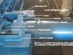 hydraulic machine cylinder fitting