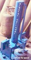 hydraulic ejector cylinder
