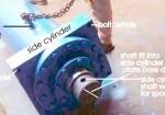 hydraulic side cylinder