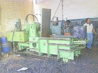 ms turning baling machine