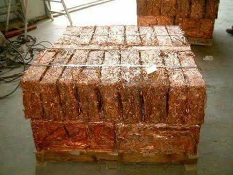 copper baling machine