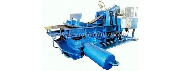 automatic baling press machine
