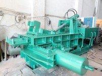 hydraulic scrap processing machine